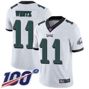 Eagles Carson Wentz 100th Season Jersey 2